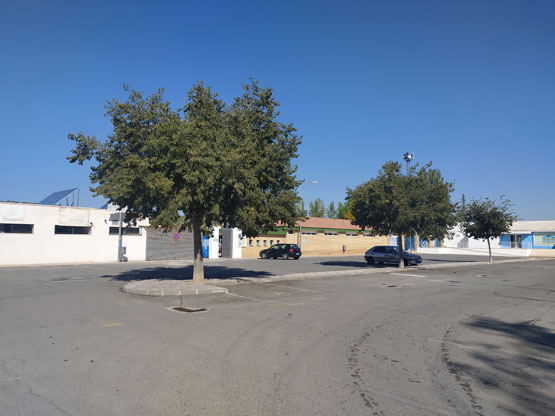 parking polideportivo